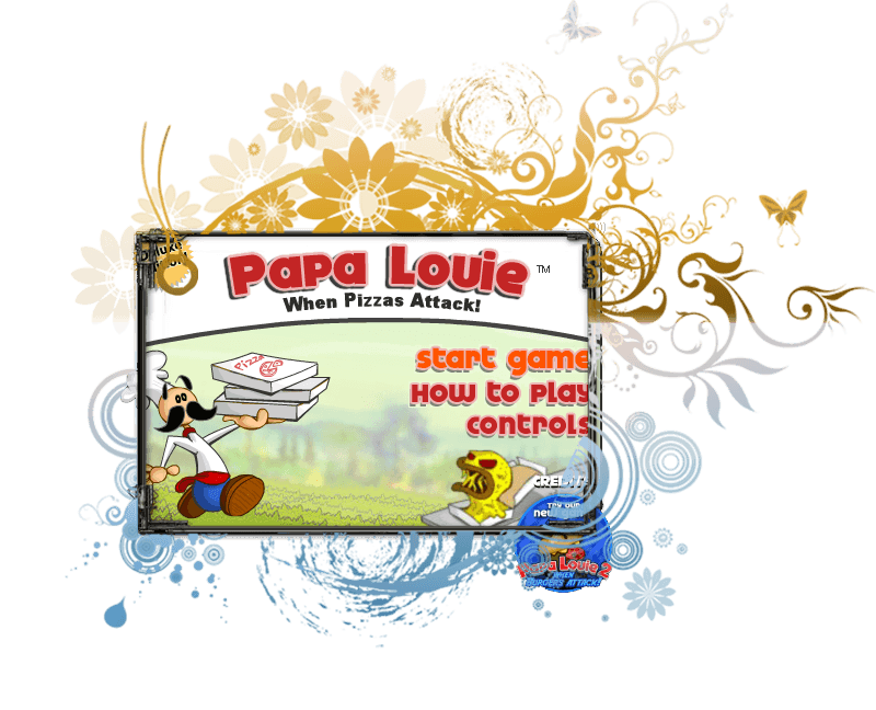 Papa Louie 1 Arcade Game