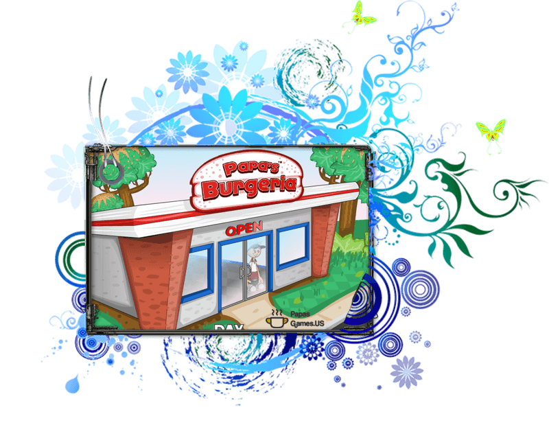 Play Papa's Burgeria Game at http://papasgames.us/ websote