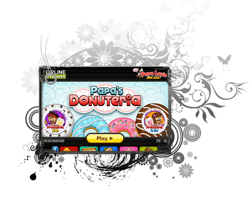 Papas Donuteria Game