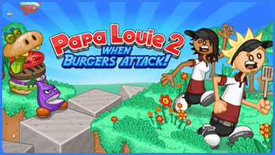 Click here to play Papa Louie 2