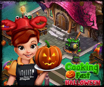 Play cooking fast helloween on PapasGames