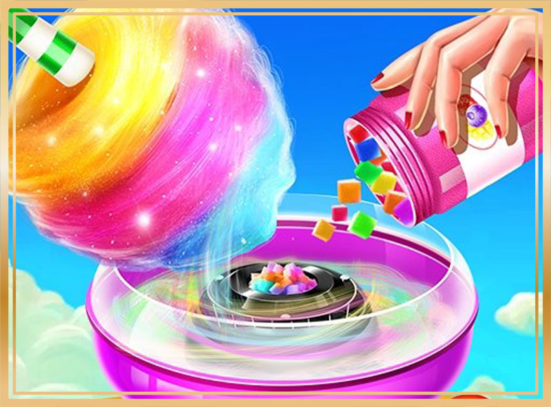 My Sweet Cotton Candy Papas Games US
